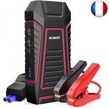 SUAOKI U7 Booster Batterie 600A 12000mAh, Jump Starter Démarreur Automatique