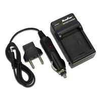 Camera Battery Charger For KONICA MINOLTA NP-400 DIMAGE A1 A2 Wall + Car + USB