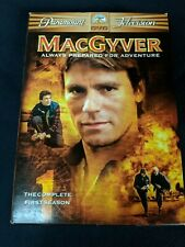 Dvd set MacGyver, Complete Season One, First, Richard Dean Anderson 1985-86