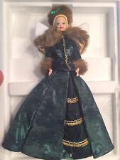 1996 Holiday Caroler Barbie Hoilday Porcelain Barbie Collection NIB