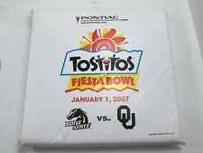 2007 Tostitos Fiesta Bowl SEAT CUSHION Boise State VS Oklahoma COLLECTABLE