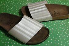 Birkenstock Clogs Birki's Pearl White Slide Sandals US  Sz 5