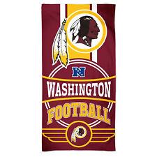 Nfl Bath Towel Washington Redskins Logo Beach 59 1/8x29 1/2in 099606284556