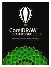 CorelDRAW Graphics Suite 2018 - Full Commercial Version, New Retail Box