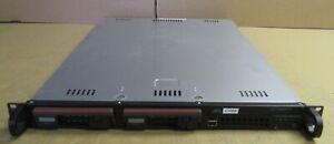 Supermicro SuperServer 6015V-T 1x Xeon E5450 3GHz 4GB Ram 2x SAS Bays 1U Server