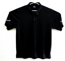 OAKLEY Men's Black Spell Out On Back SS Polo Shirt Size XL EUC