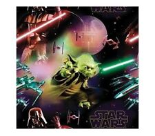 NEW HALLMARK STAR WARS FOLDED WRAPPING PAPER GIFT FORCE AWAKENS DESIGN PRESENT