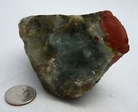 Jasper Bloodstone Rough Africa 244 grams Lapidary Rough Chakra Reiki