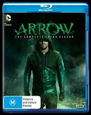 Arrow : Season 3 (Blu-ray, 2015, 4-Disc Set)