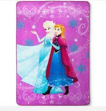 "Disney Frozen TWIN Plush Blanket, 62"" x 90"""