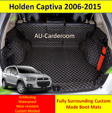 Holden Captiva 7 Seats 2006-2015 Custom Made Trunk Boot Mats Liner Cargo Cover