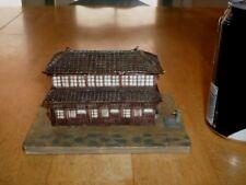 HO SCALE- JAPAN WOODEN HOUSE, RESIN MATERIAL, Diorama/ Landscape /War Gamer Prop