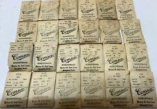 24-Vintage Elgin Pocket Watch Mainsprings, Sizes 10, 12, 16 & 18, In Package