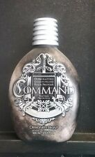 DESIGNER SKIN COMMAND 13.5 oz  BLACK BRONZER, tanning lotion w/ Tattoo Protect