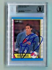 QUEBEC NORDIQUES JOE SAKIC signed autographed 1989-90 OPC ROOKIE CARD RC BECKETT