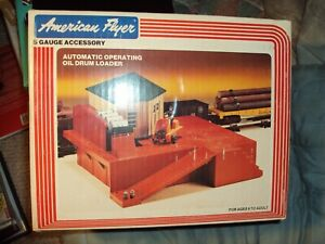 1983 American Flyer Automatic Operating Oil Drum Loader S Gauge 4-2300 New inBox