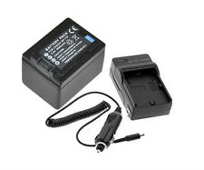 New 2pcs BP-727 BP-718 Battery and charger For Canon VIXIA HF M50 HF M52 HF R300