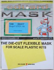 Eduard 1/48 EX417 Canopy Mask for the Kitty Hawk Mirage F.1CT/CR kit