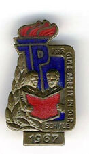 1967 East  Germany German DDR Abzeichen pin badge JP Pioneer young School  award