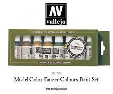 VALLEJO  VAL70108 Model Color Paint Set - Panzer Colours (8 x 17ml bottles )