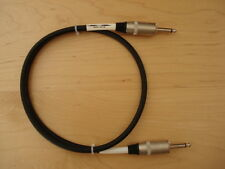 Klotz Jack Guitar Amp Cab Cabinet Speaker Cable, 1m for Marshall, Orange, Peavey