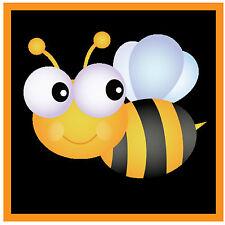 CUTE BUMBLE BEE - FUN CAR / WINDOW STICKER + 1 FREE -  BRAND NEW - GIFT