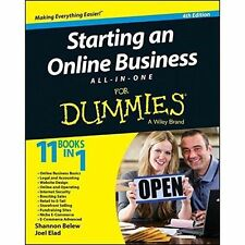 Starting an Online Business All-in-One For Dummies by Shannon Belew, Joel...