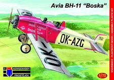 Kovozavody Prostejov 1/72 Model Kit 7279 Avia BH-11 Czechoslovak Sports plane