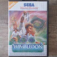 Sega Master System ► Wimbledon ◄ komplett in OVP | TOP