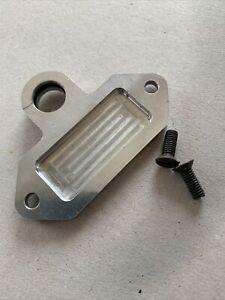 Billet Aluminium Quadrant Plate, Tiger Cub Or BSA C15 Fitment With Screws