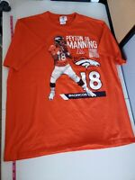 NFL Denver Broncos Peyton Manning 18 QB Shirt XL