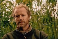 IAIN GLEN  signed Autogramm 20x30cm GAME OF THRONES in Person autograph COA