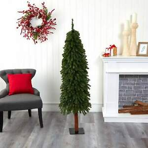 Nearly Natural 5' Grand Alpine Artificial Tree with 469 Adjustable Branches