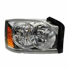 Dodge Dakota 05 06 07 Chrome Head Light Lamp Right Passenger Side