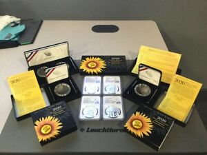 "2020 Women's Suffrage Centennial Set ""Official US Coin & Medal Set"" Pedigree!"