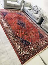 Antik Handgeknüpft Perser Orientteppich Nain Wie Isfahan Carpet Rug