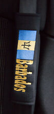 Barbados Flag design Seat Belt Shoulder Pads x 2