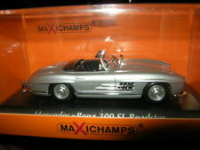 1:43 MAXI Champs Mercedes-Benz 300 SL ROADSTER 1955 ARGENTO/SILVER N. 940039030