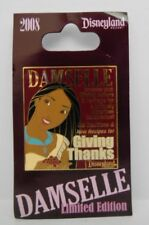 Disney Pocahontas Giving Thanks Damselle Magazine Collection November AP LE Pin
