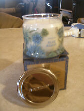 Partylite Blue Agave Signature 3-wick Jar Candle Brand New Nib