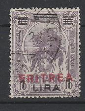 FRANCOBOLLI - 1924 ERITREA L.1 SU 10 d. A/9730