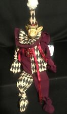 Katherine's Collection Wayne Kleski Retired Giraffe Jester Bean Doll NOS