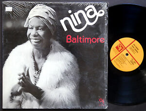 NINA SIMONE Baltimore LP CTI RECORDS CTI 7084 US 1978 JAZZ Dave Matthews