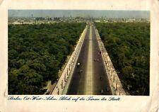 12045/ Foto AK, Berlin, Ost-West-Achse, Blick auf die Türme der Stadt, 1941