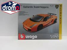 1/24 BURAGO - BBURAGO GALLARDO SUPERLEGGERA - BBURAGO DIE CAST METAL KIT
