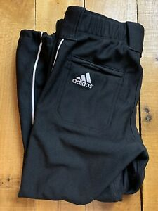 Women's Adidas Fastpitch Black Designated Hitter Softball Pants Large NWT