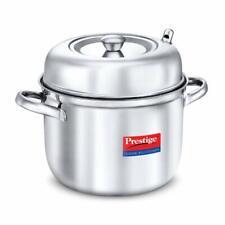 Prestige Classic Stainless Steel Idli Cooker Pot 6 Plates Steamer