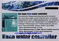 Nano Water Controller automatische Wasserstandsregulierung für Aquarien