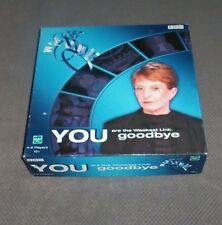 YOU ARE THE WEAKEST LINK Board Game - 100% complete with rules - unpunched