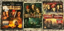 Pirates of the Caribbean Trilogy, Movies 1 - 3